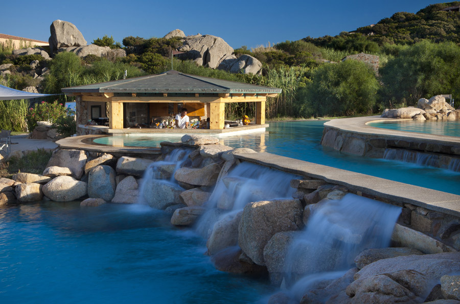 5 stars hotel in sardinia the resort with two hotels to for Sardinien design hotel